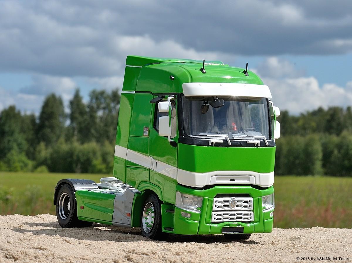 renault range t a n model trucks 1 24 andrey myakotkin a n model trucks. Black Bedroom Furniture Sets. Home Design Ideas