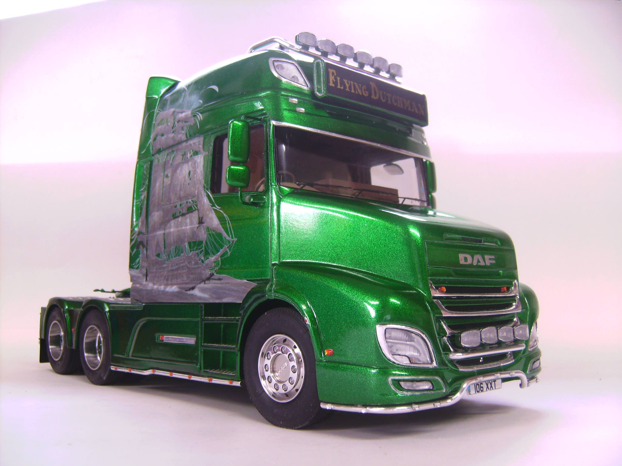 One More Daf 106 In Our Gallery A Amp N Model Trucks