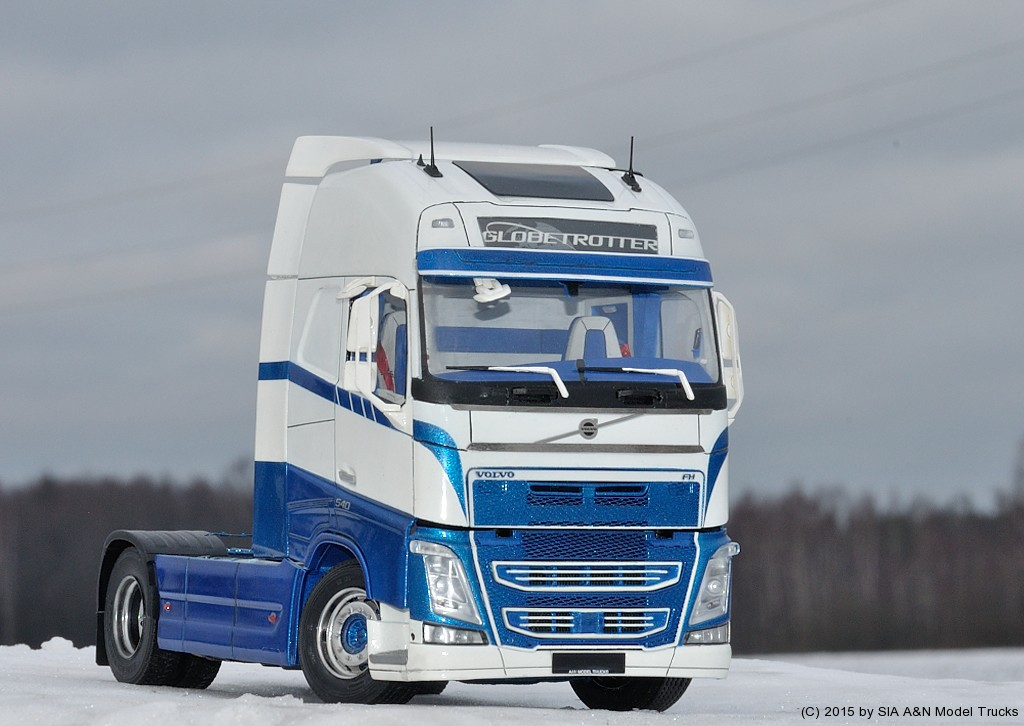 volvo fh4 a n model trucks 1 24 andrey myakotkin a n model trucks. Black Bedroom Furniture Sets. Home Design Ideas