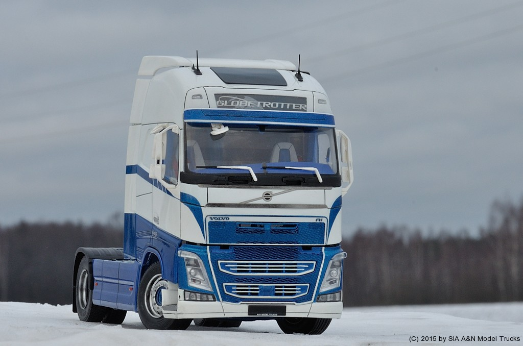 volvo fh4 a n model trucks 1 24 andrey myakotkin a n. Black Bedroom Furniture Sets. Home Design Ideas
