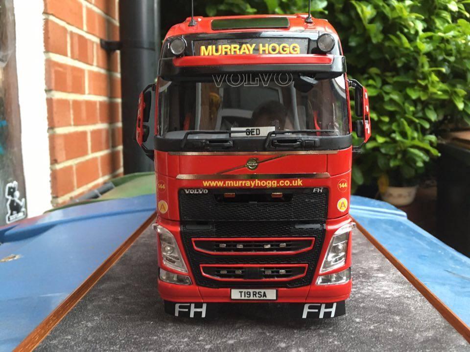 Big Truck Tires >> Volvo FH4 by Steven Morrison, UK – A&N Model Trucks
