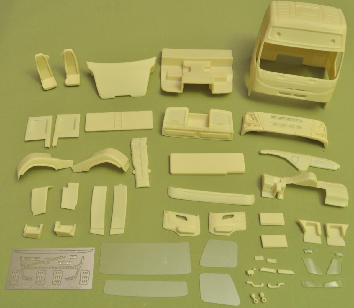 Highway truck. Conversion kit – A&N Model Trucks