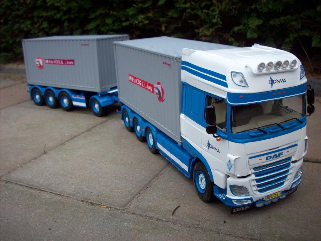 daf xf106 by peter de laat netherlands a n model trucks. Black Bedroom Furniture Sets. Home Design Ideas