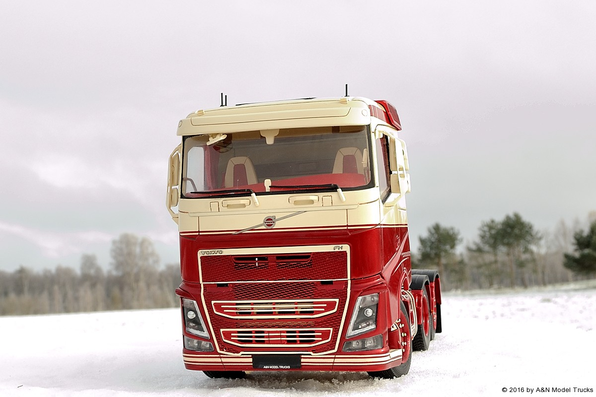 volvo fh4 flat roof a n model trucks 1 24 andrey. Black Bedroom Furniture Sets. Home Design Ideas
