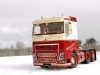Volvo FH4 (flat roof). A&N Model Trucks, 1/24. Andrey Myakotkin