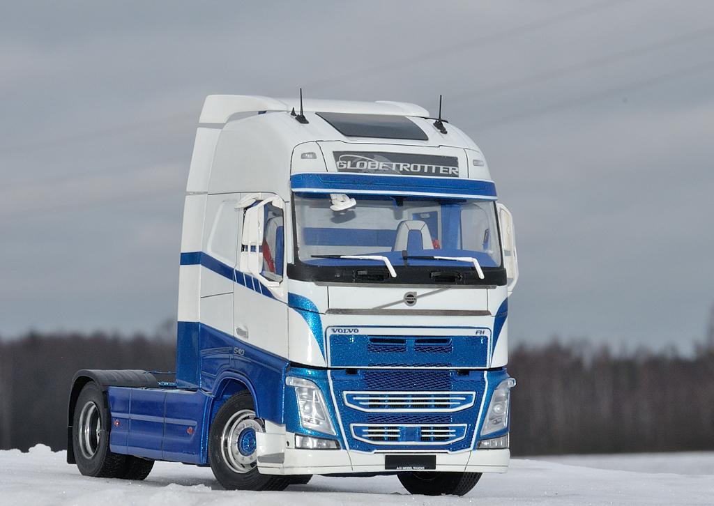 Swedish truck (Euro 6)