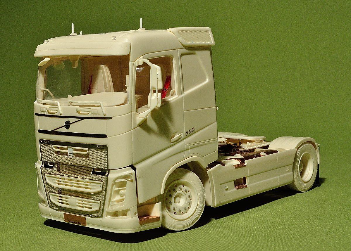 Swedish truck (Flat roof, Euro 6)