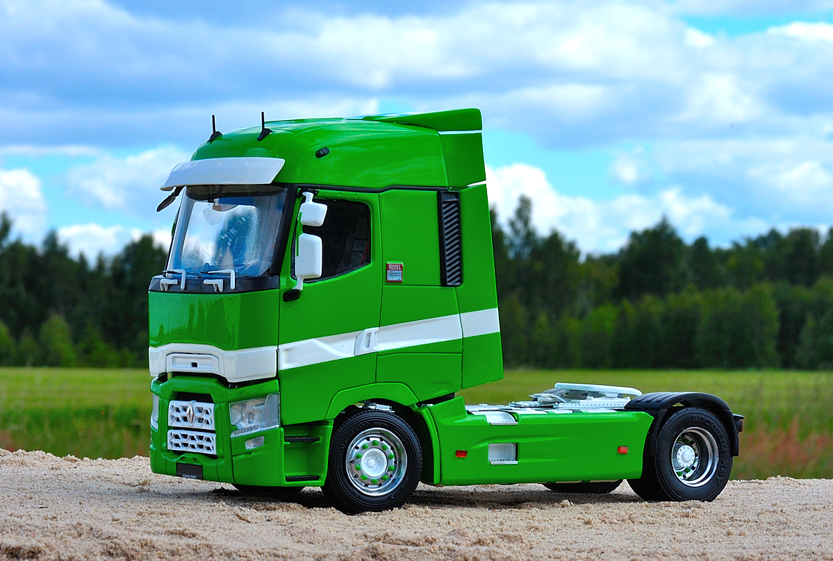 French truck chassis