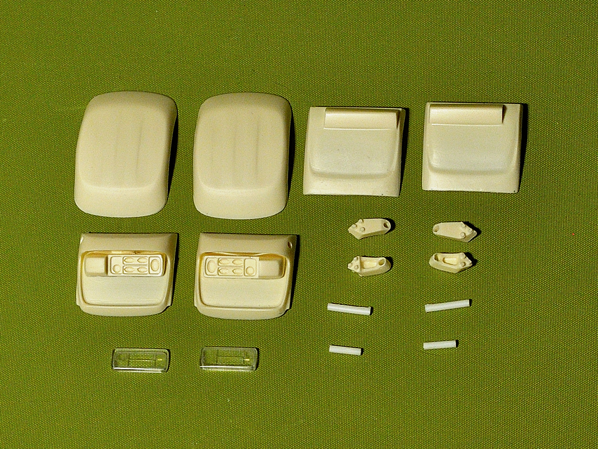 New style mudguards for Italeri DAF XF105