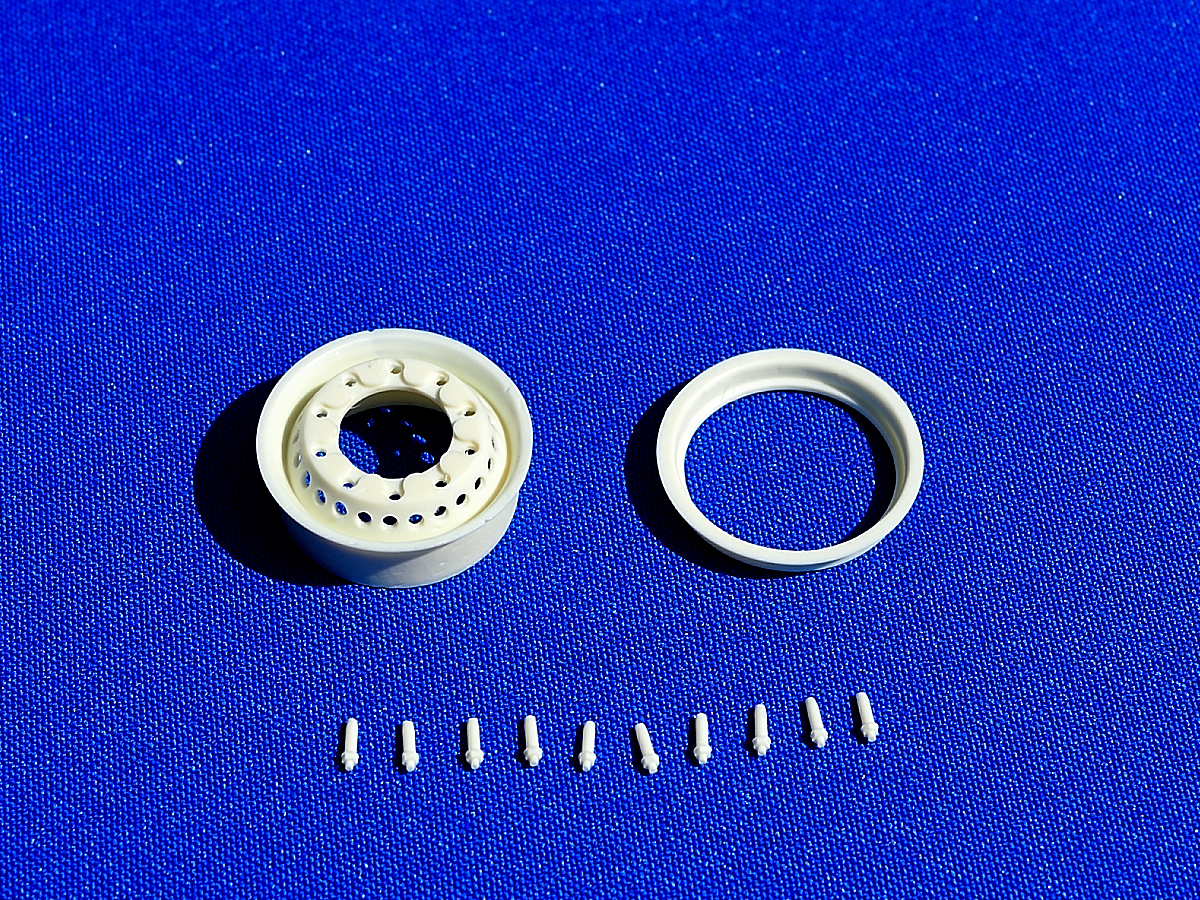 Front rim normal width, variant 2. Scale 1/24