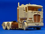 Aussie K200 truck (flat roof). Resin kit, 1/24