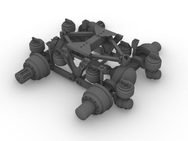 Air GL 400 rear suspension