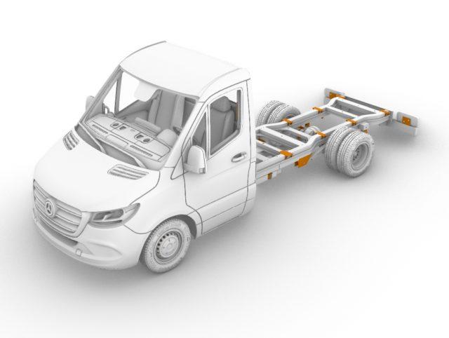 """5.5 ton """"M-S"""" truck, standard (3665 mm)"""
