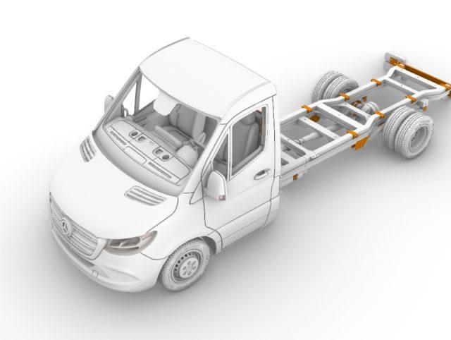 "5.5 ton ""M-S"" truck, long (4325 mm)"
