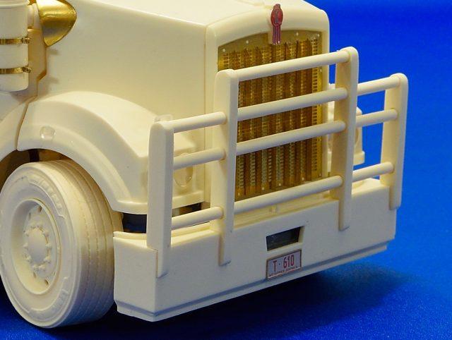 Bullbar + stoneguard for Aussie T610 SAR truck