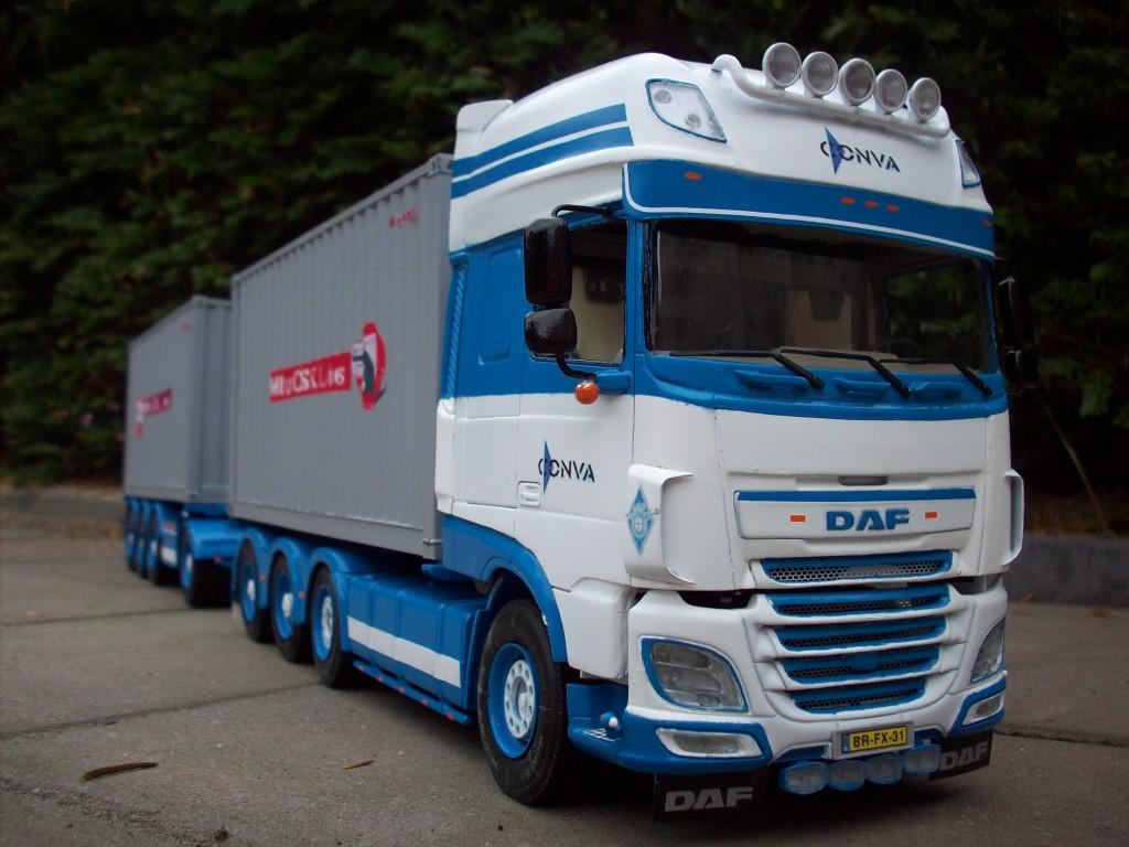 DAF XF106 by Peter De Laat, Netherlands