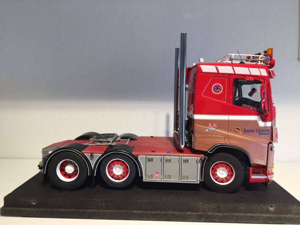 Volvo FH4 flat roof, Ronnie Ceusters. Jens Hannibalsen, Denmark