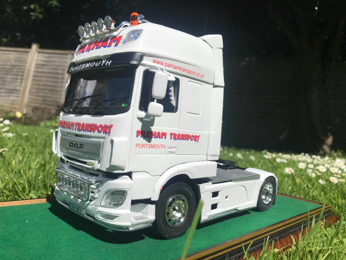 DAF XF106. John Holcroft, UK