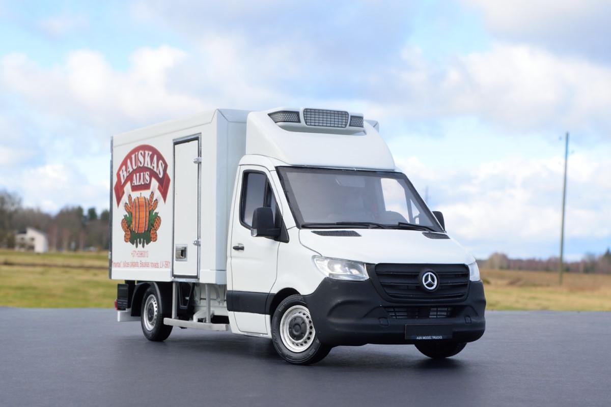 Mercedes-Benz Sprinter 3.5 ton reefer truck. Andrey Myakotkin, Latvia