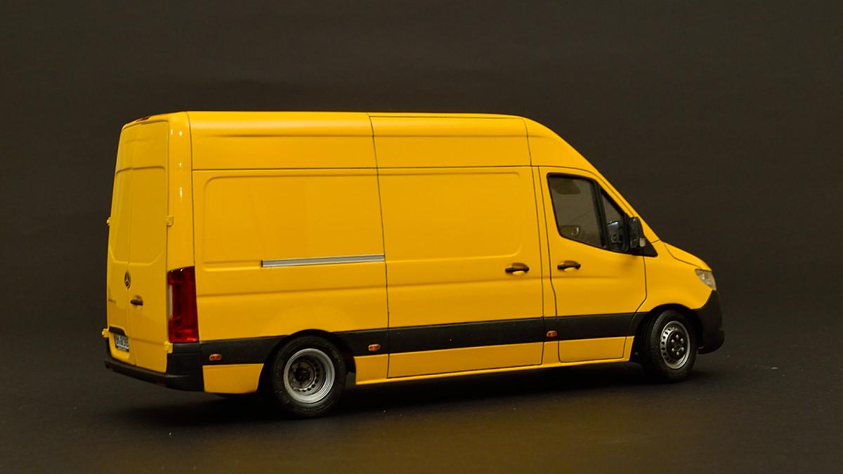 Mercedes-Benz Sprinter 5.5 ton van.  Andrey Myakotkin, Latvia