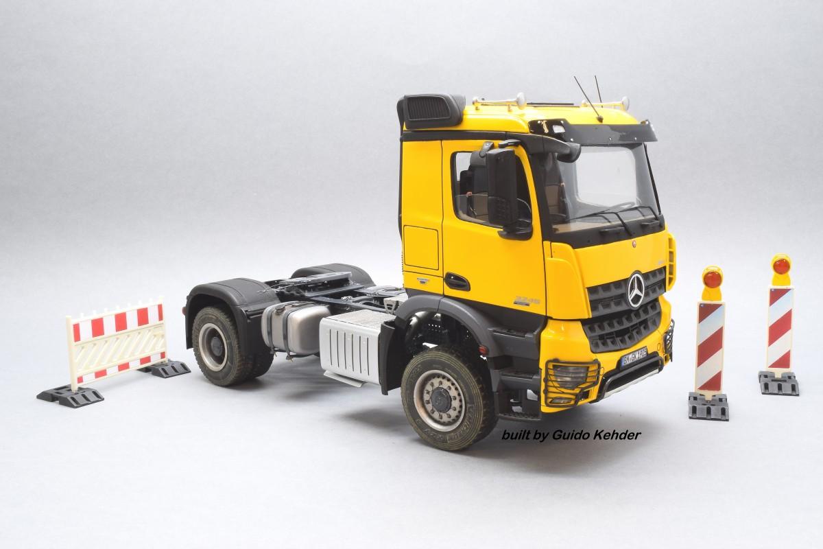 Mercedes-Benz Arocs 4x4. Guido Kehder, Germany