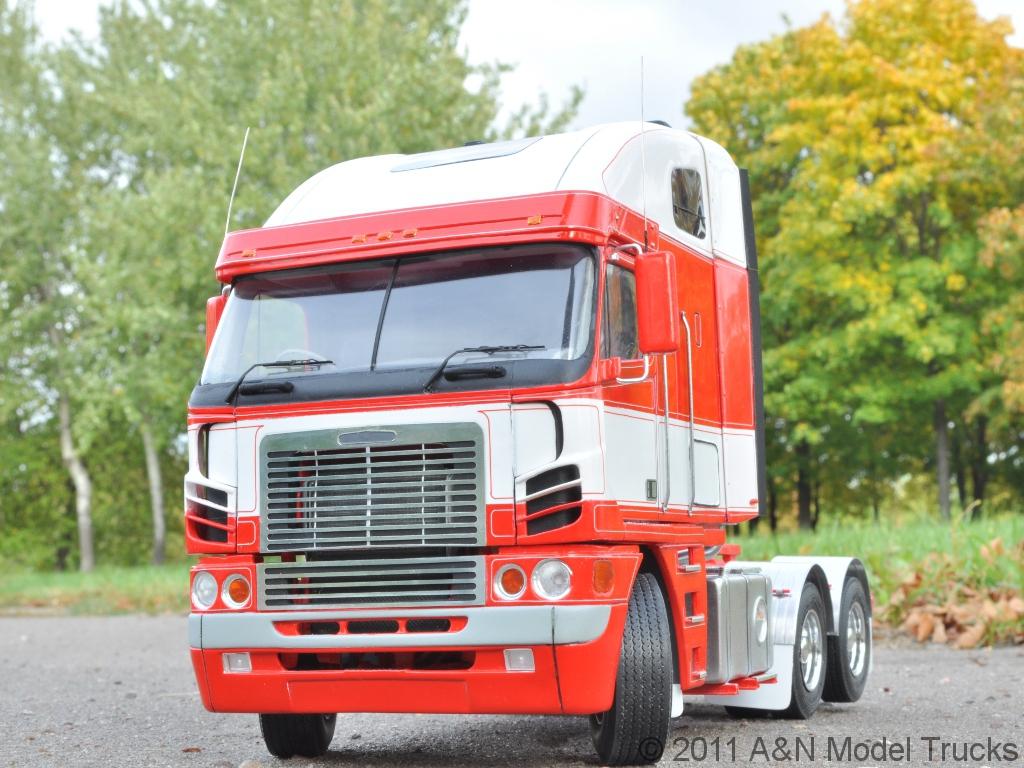 Australian Modern COE Truck. 1/24, A&N Model Trucks, by Andrey Myakotkin