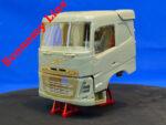 Mid-range Swedish truck, sleeper cab, flat roof (Economy Line). Conversion kit, 1/24