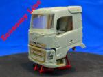 Mid-range Swedish truck, day cab (Economy Line). Conversion kit, 1/24