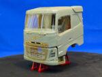 Mid-range Swedish truck, sleeper cab, flat roof. Conversion kit, 1/24