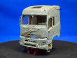 Swedish construction truck, sleeper cab, high roof. Conversion kit, 1/24