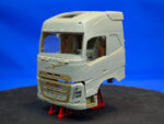 Mid-range Swedish truck, sleeper cab, high roof. Conversion kit, 1/24
