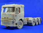 8x4 tridem chassis for Swedish construction truck. Scale 1/24